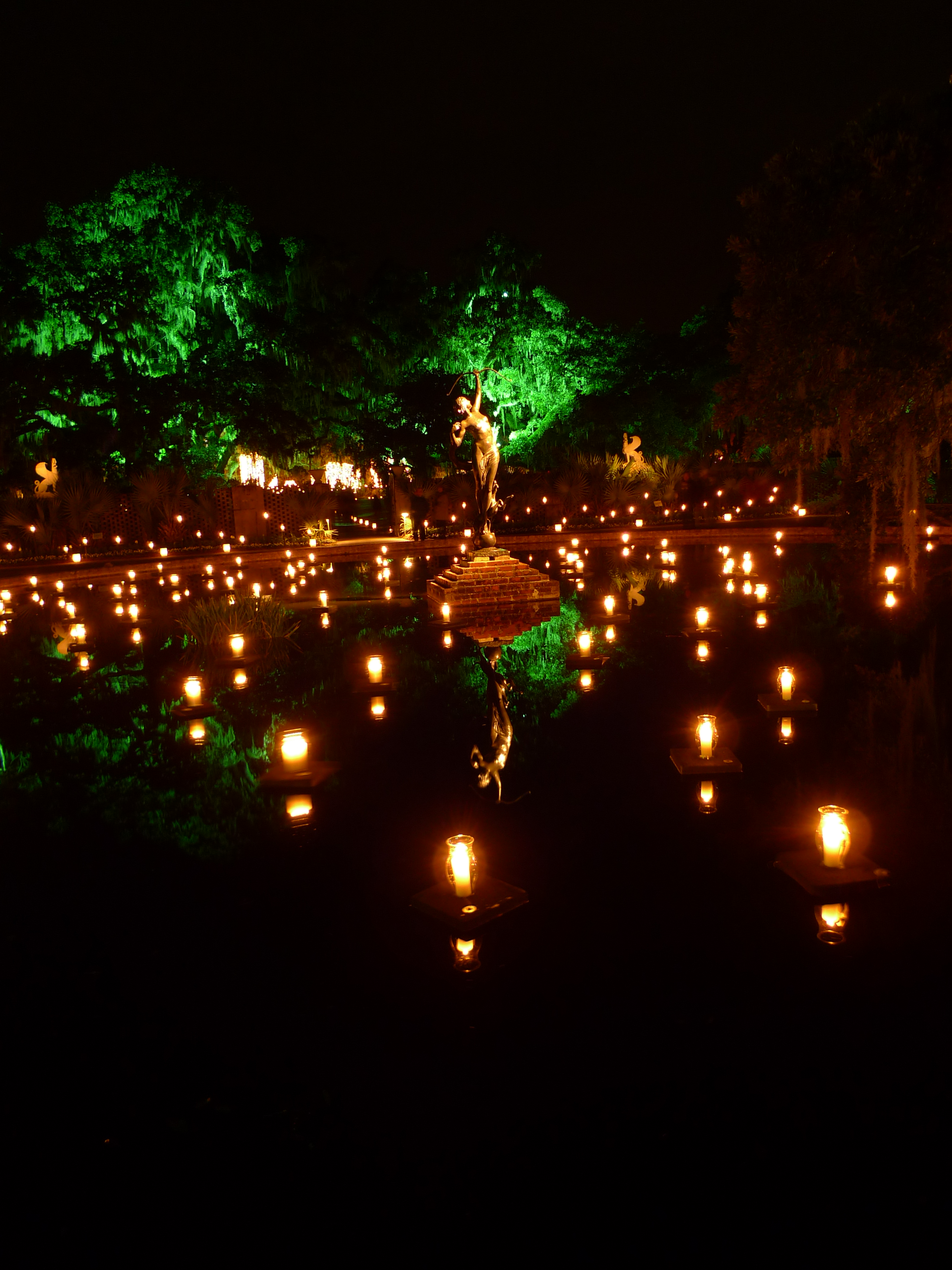 Nights Of A Thousand Candles Brookgreen Gardens 11 December 2009 At Columbia Closings