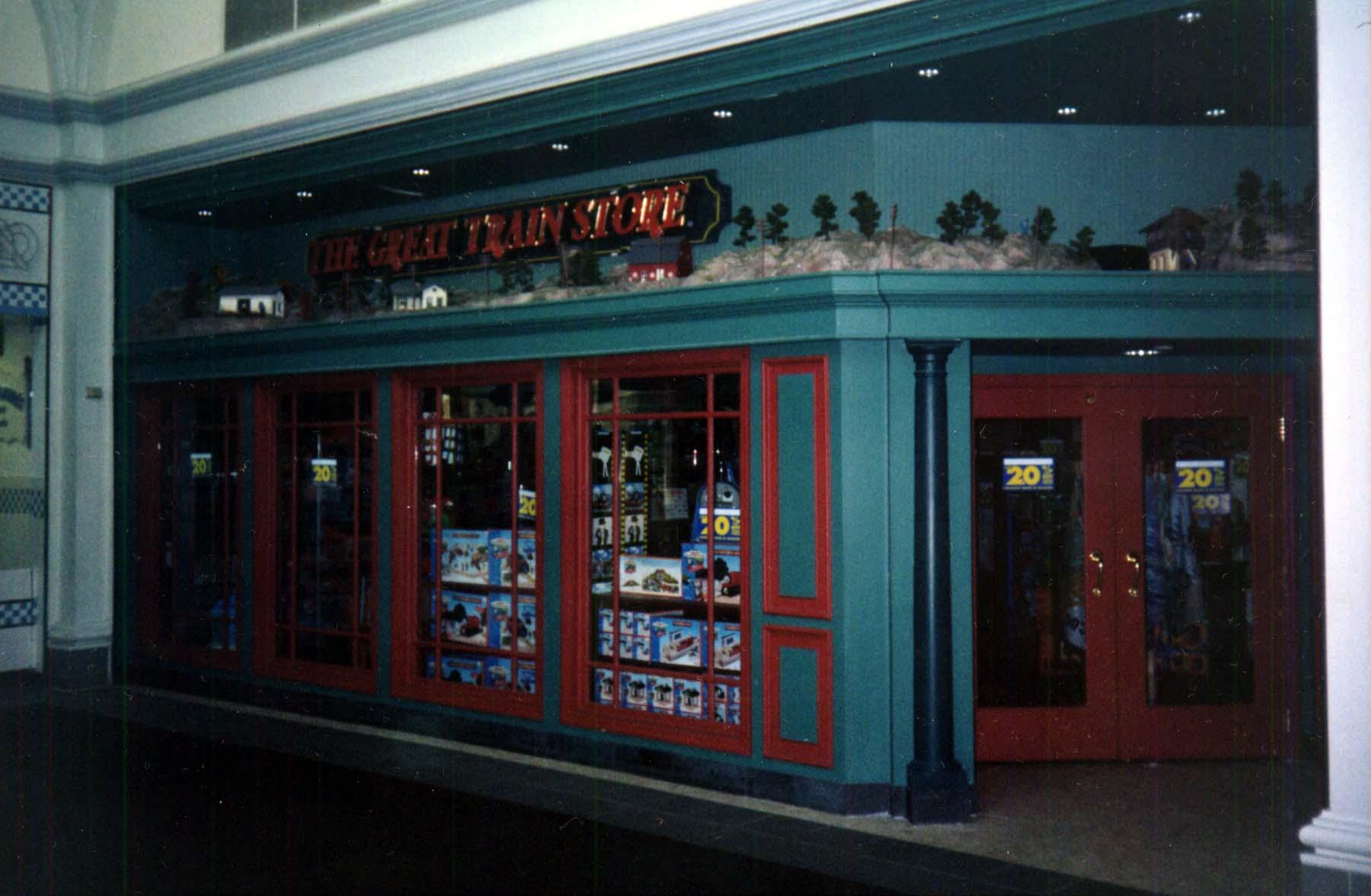 Train store arlington va