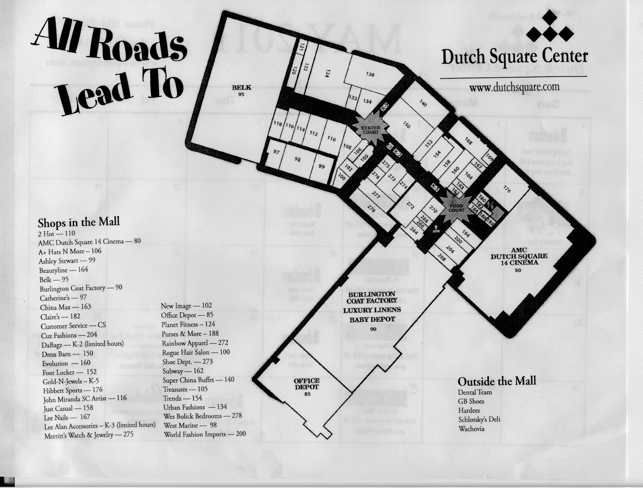 Dutch Square Mall >> Dutch Square Then Then At Columbia Closings