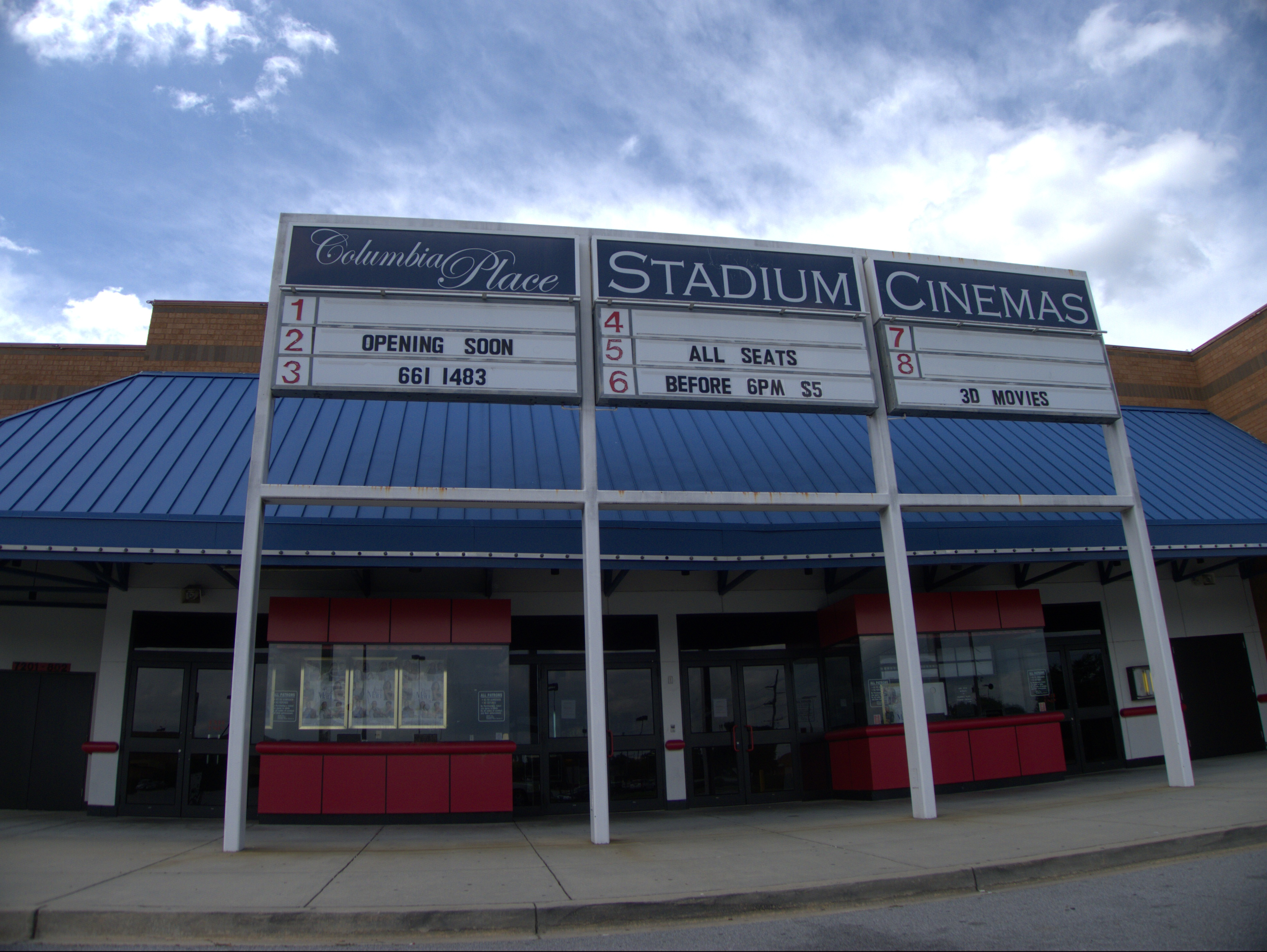 Movies In Columbia Sc >> Columbia Mall Cinema 8 Columbia Place Stadium Cinemas