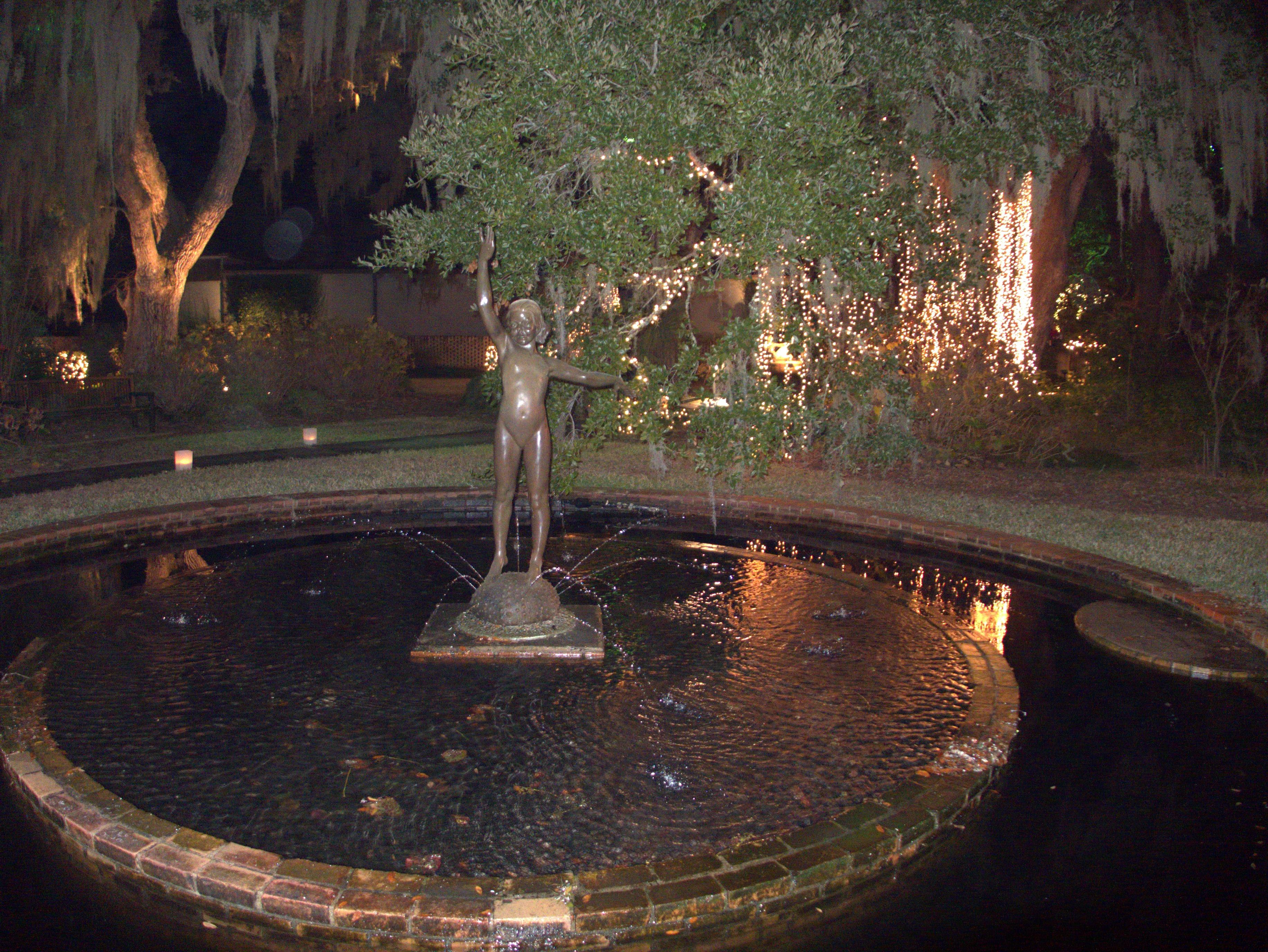 Brookgreen Gardens Nights Of 1000 Candles 2013 Brookgreen Gardens Grand Strand 21 December