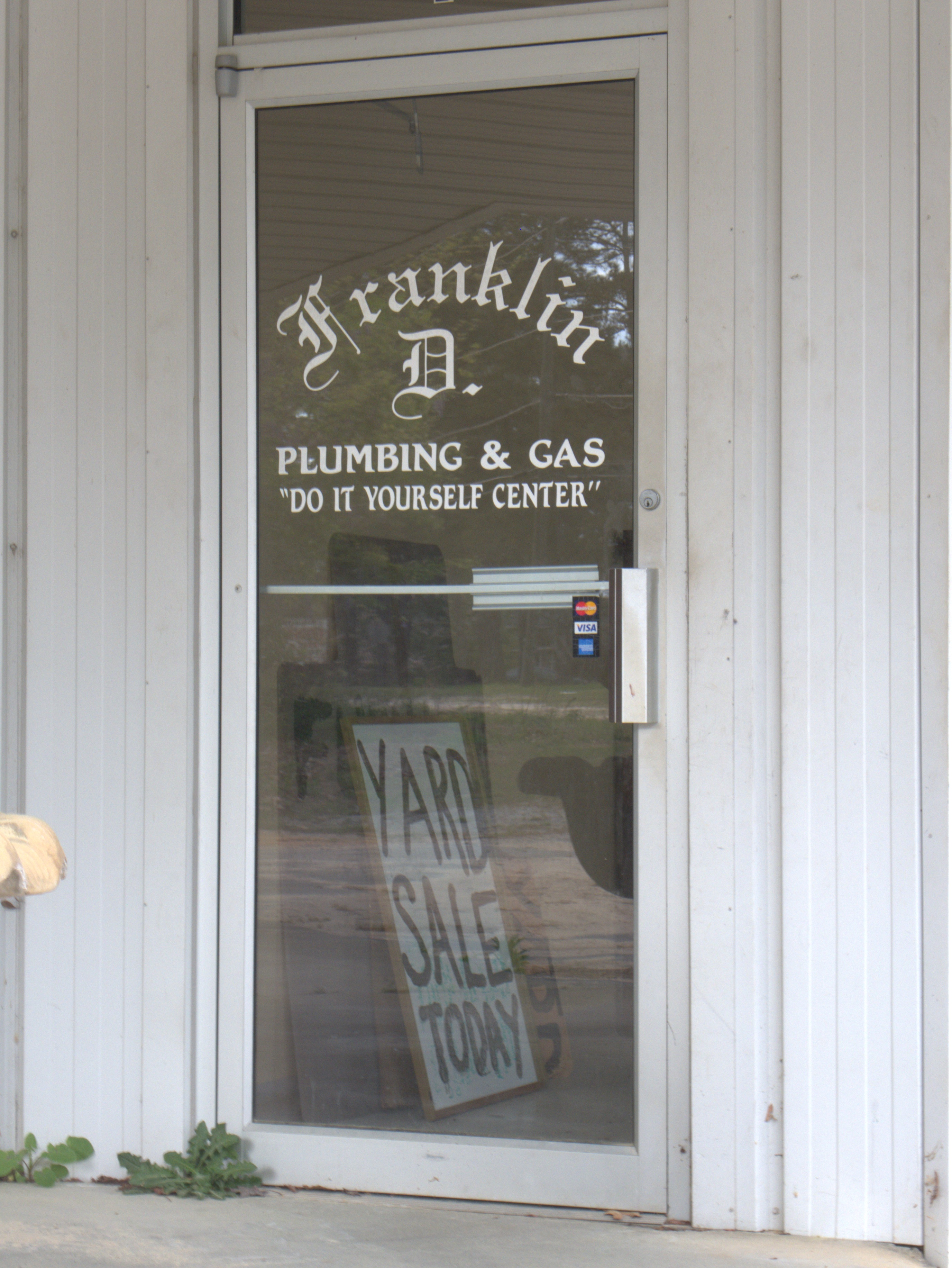 Franklin d plumbing gas co do it yourself center