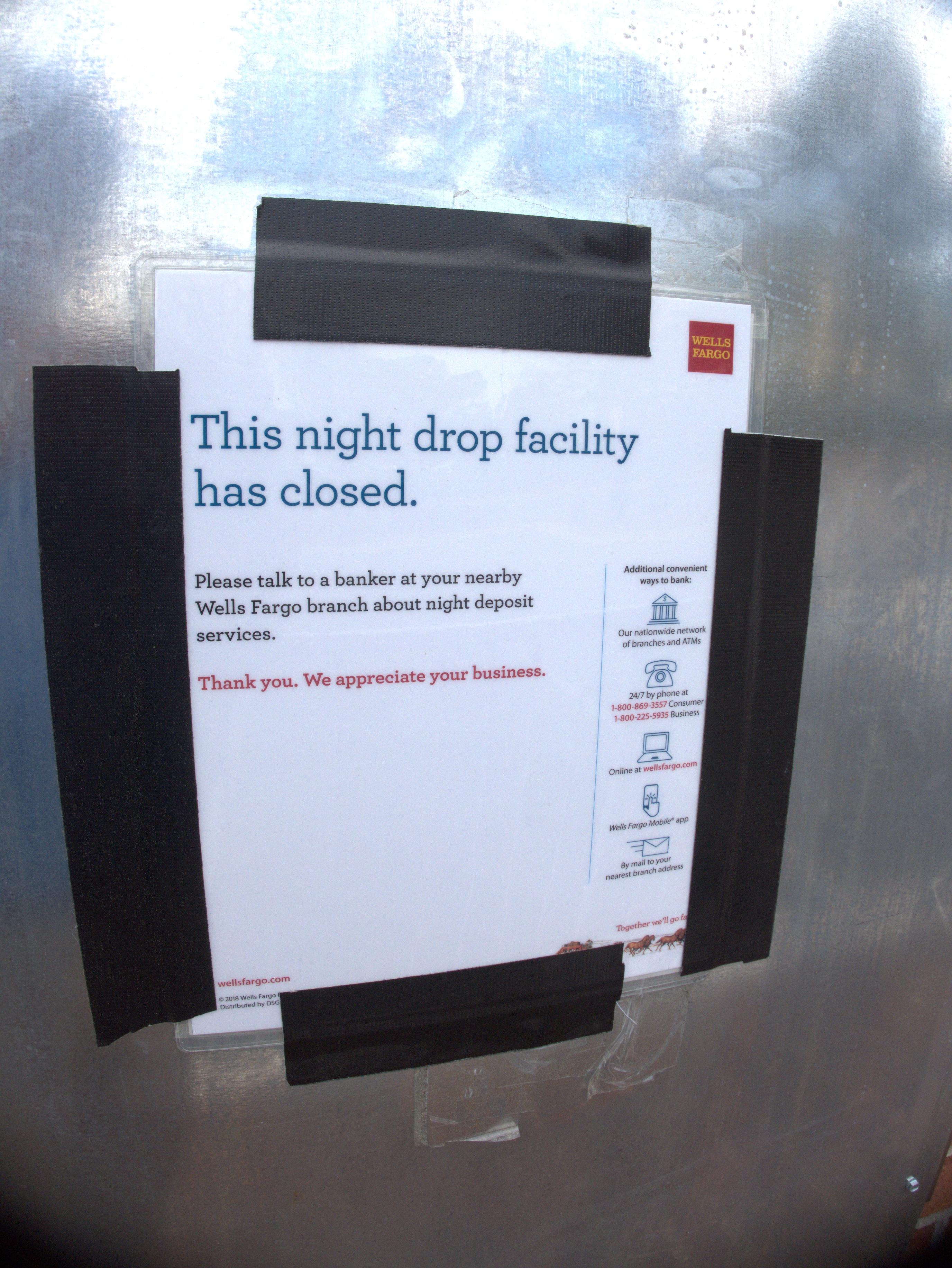 Wells Fargo at Columbia Closings
