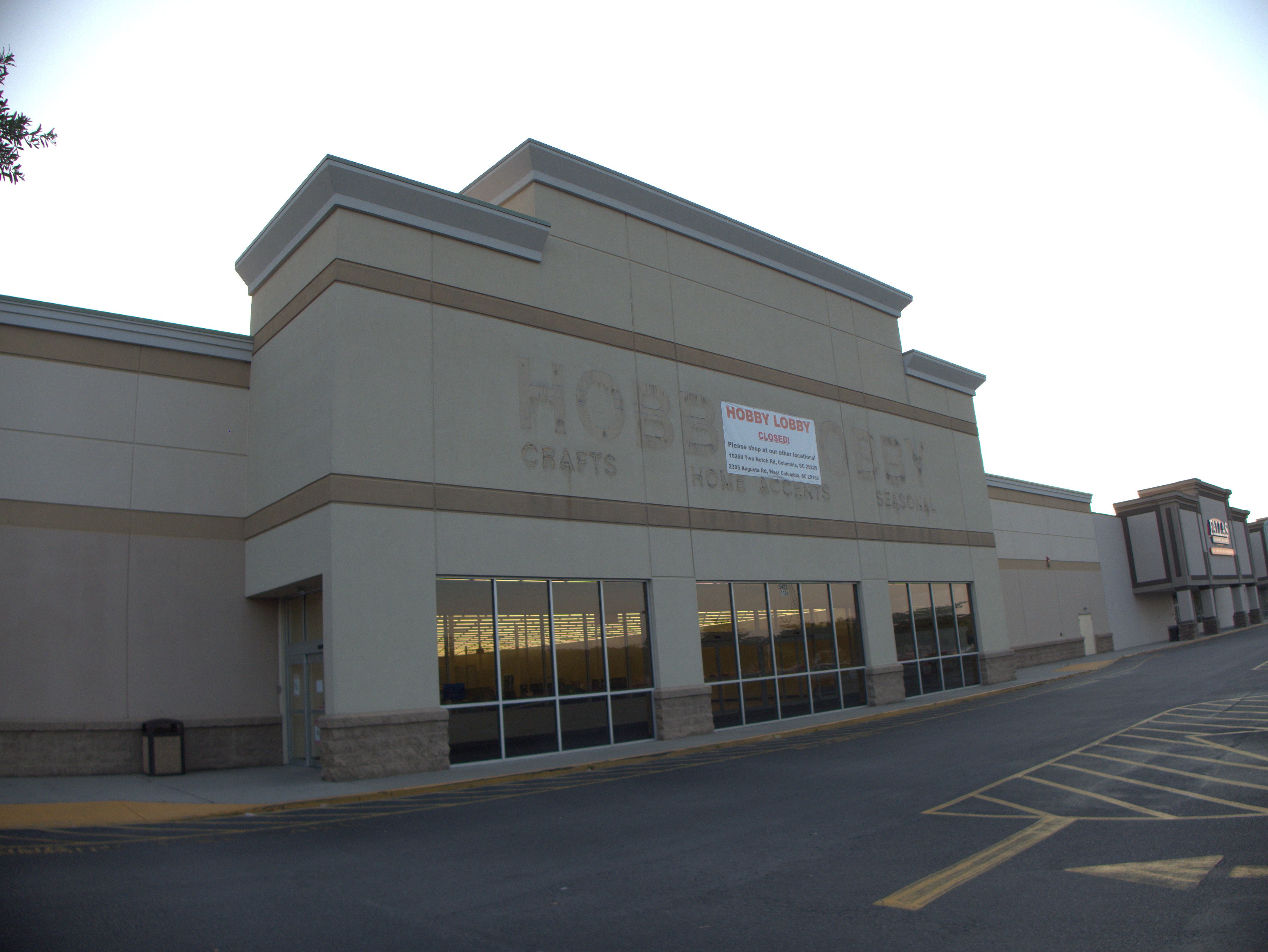 Hobby Lobby, 5422 Forest Drive: 10 June 2019 (Moved) at